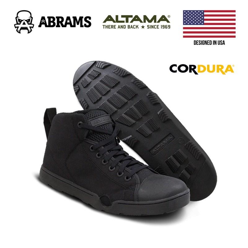 Тактические кроссовки (кеды) Altama Maritime Assault Mid Black
