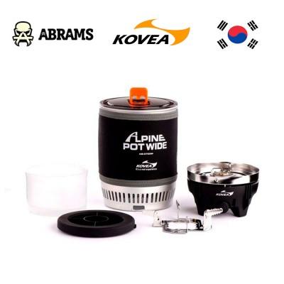 Газовая горелка туристическая Kovea KB-0703W Alpine Pot Wide