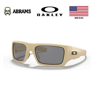 Окуляри балістичні Oakley Standard Issue Ballistic Det Cord Desert Tan Grey Lens