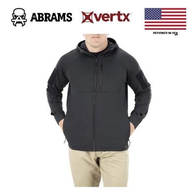 Куртка флис тактическая худи Vertx Firebase Hoody Stretch Its Black