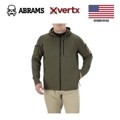Куртка флис тактическая худи Vertx Firebase Hoody Stretch Ranger Green