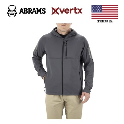 Куртка флис тактическая худи Vertx Firebase Hoody Stretch Spine Grey