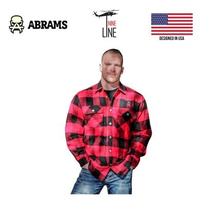 Рубашка фланелевая Nine Line Men's Buffalo Flannel Drop Line