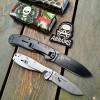 Складной нож ESSE Avispa Black Coated Japanese Aus 8 Steel Desert Tan GRN Handle