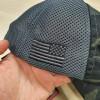 Кепка Nine Line Dark American Made Mesh Back Hat with Drop Line Multicam Black