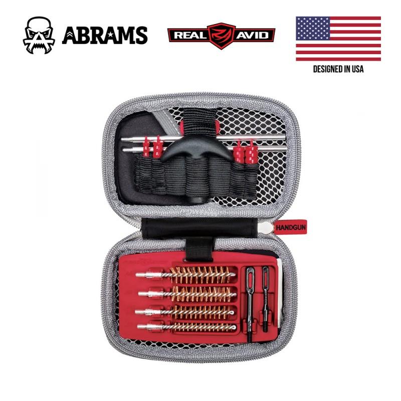 Набор для чистки пистолета Real Avid Gun Boss Cleaning Kit - Pistol (.22/.357/.38/.9 mm/.40/.45 cal)