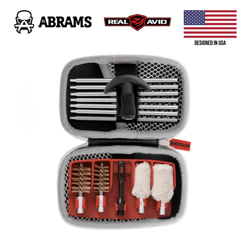 Набор для чистки ружья Real Avid Gun Boss Cleaning Kit - Shotgun (12, 16, 20 cal.)