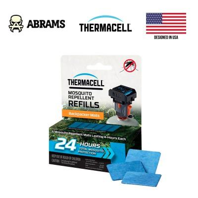 Змінні пластинки Thermacell Backpacker Repellent Mat-Only Refills 24 годин