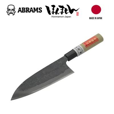 Нож кухонный HONMAMON AZUMASYUSAKU Deba Kurouchi Aogami Steel