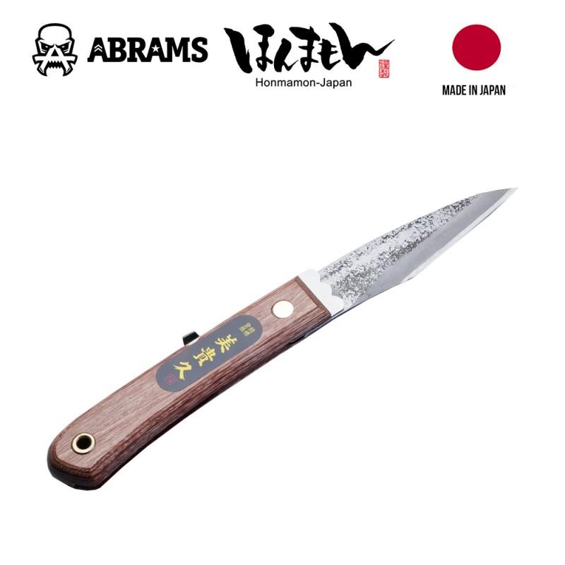 Нож японский складной Honmamon Mikihisa HANAKUMAGAWA 240 мм