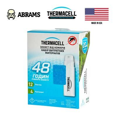 Набір картриджів 48H для антимоскітних пристроїв Thermacell Mosquito Repellent Refills