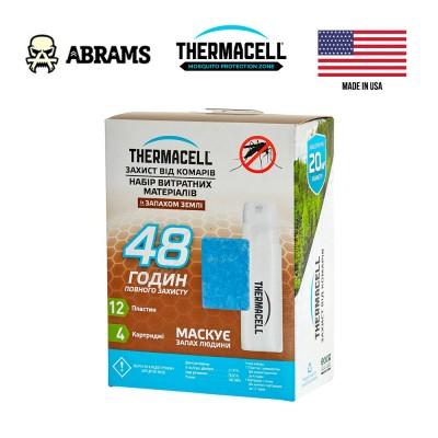 Набор картриджей 48H для антимоскитных устройств Thermacell Mosquito Repellent Refills Earth Scent