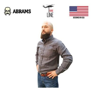 Рубашка фланелевая Nine Line Men's Solid Flannel Navy