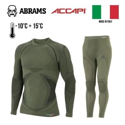 Термобілизна компресійна Accapi X-Country Baselayer Light Military Green комплект