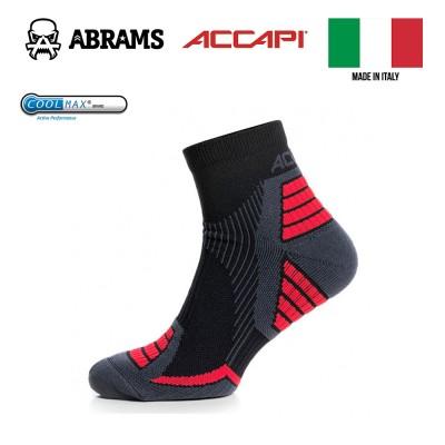 Трейловые носки Accapi Trail/Running Sock Black/Red Coolmax