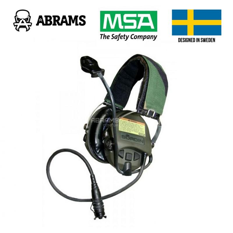 Активные наушники гарнитура MSA Sordin 75305 Supreme Pro