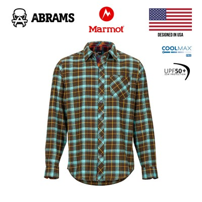 Рубашка фланелевая Marmot Anderson Lightweight Flannel Brown