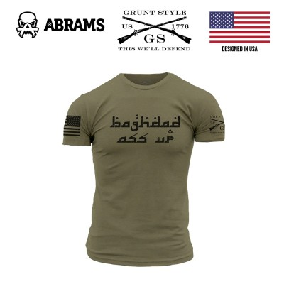 Футболка Grunt Style Baghdad Ass Up Military Green