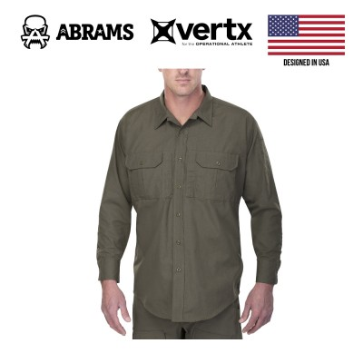Тактическая рубашка Vertx Phantom LT Long Sleeve Shirt OD Green