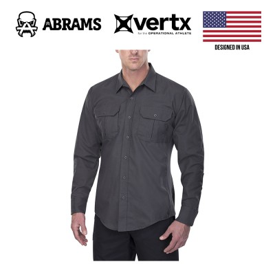 Тактическая рубашка Vertx Phantom LT Long Sleeve Shirt Smoke Grey