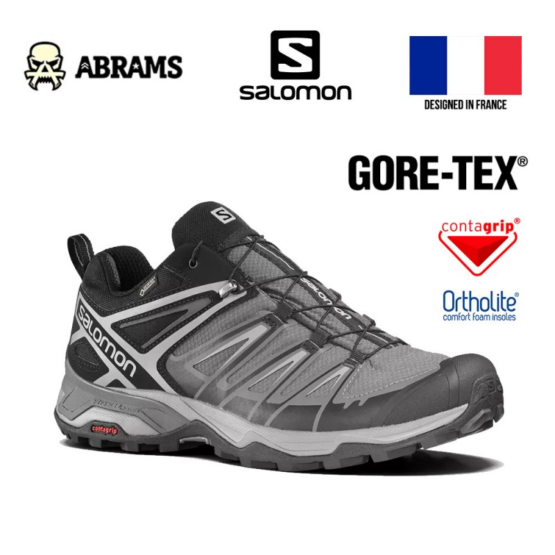 Ботинки Salomon X ULTRA 3 GTX с водонепроницаемой мембраной Gore-Tex®