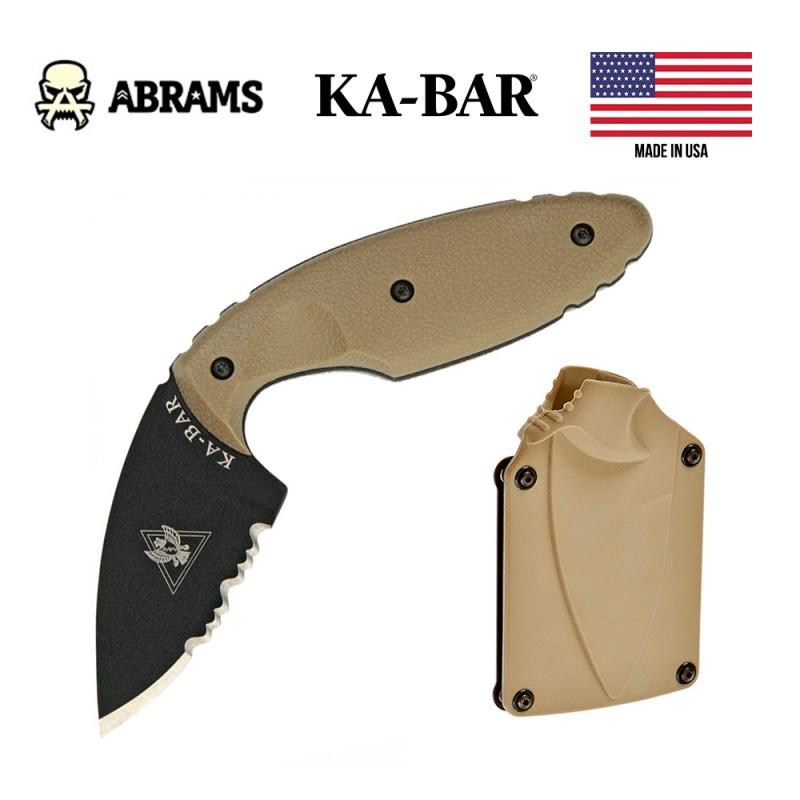 Нож скрытого ношения Ka-Bar TDI Law Knife Brown