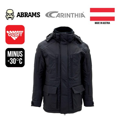 Куртка зимняя Carinthia ECIG 4.0 G-Loft Jacket Black (ПОД ЗАКАЗ)
