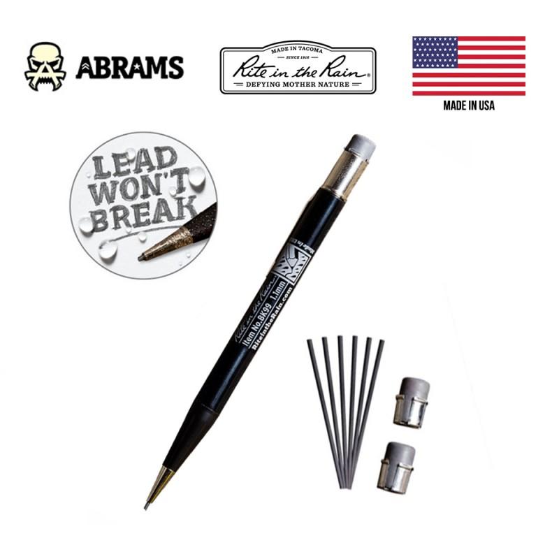 Всепогодный карандаш Rite In The Rain BK99 All-Weather Mechanical Pencil Black