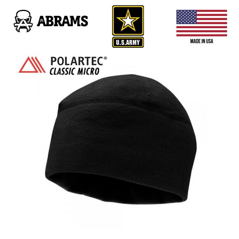 Шапка Polartec® Classic Micro Series Cap - черная