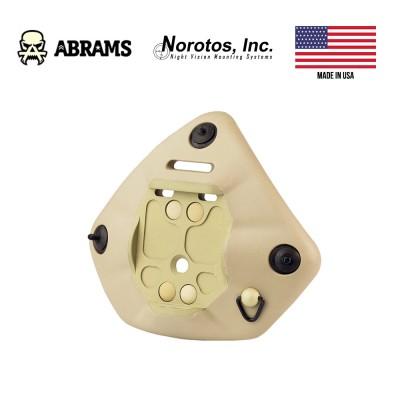 Кріплення для ПНБ на каску Norotos Universal Shroud NVG Mount Kit Tan