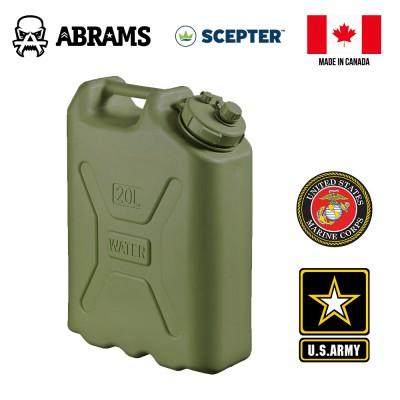 Канистра для воды 20L Olive военные USA