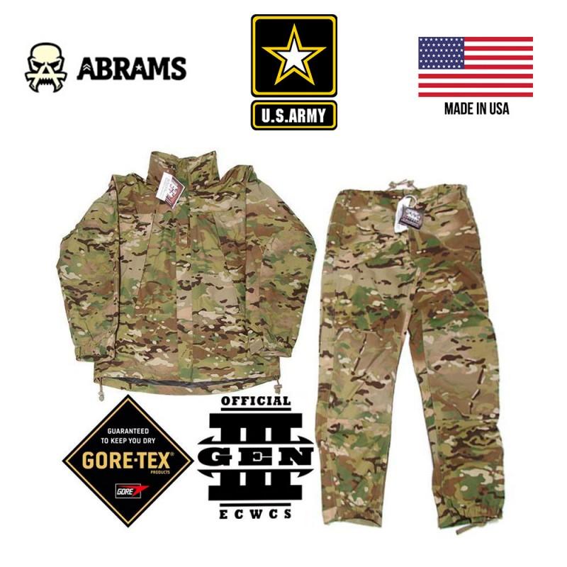 Комплект от дождя куртка и штаны ECWCS Gen III Level 6 Gore-Tex PACLITE - Multicam