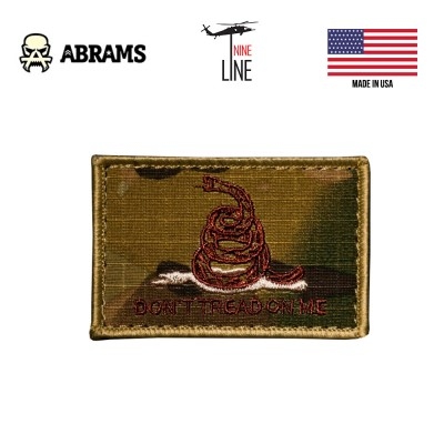 Патч Nine LIne Don't Tread On Me MultiCam Patch