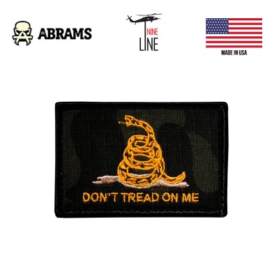 Патч Nine LIne Don't Tread On Me Dark MultiCam Patch
