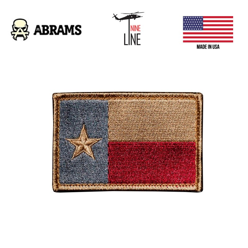 Патч Nine LIne Texas Flag Patch