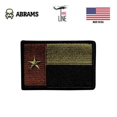 Патч Nine LIne Dark Texas Flag Patch