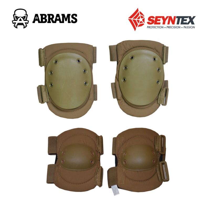 Комплект контрактных наколенников и налокотников Seyntex N. V. Coyote-Tan