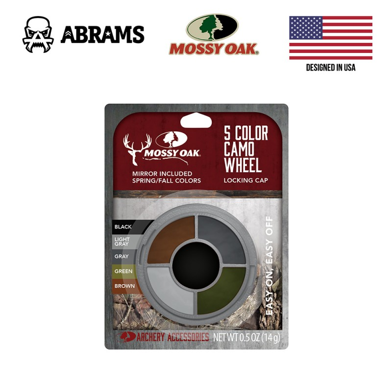 Краска для лица (грим военный) Mossy Oak 5 Color Camo Wheel
