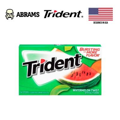 Жевательная резинка Trident Watermelon Twist USA - арбуз и дыня