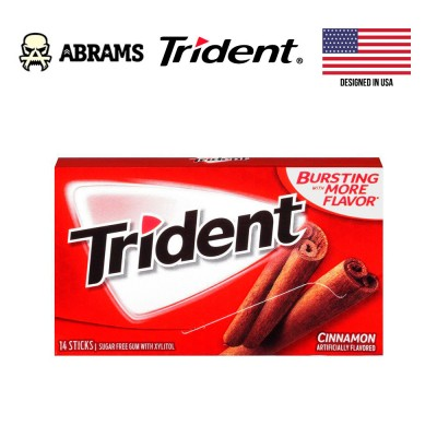 Жевательная резинка Trident Cinnamon USA - Корица