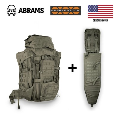 Рюкзак Eberlestock F4 Terminator Backpack + A4SS Tactical Weapon Carrier Military Green