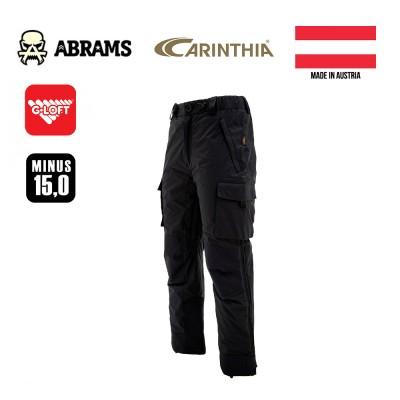 Штаны утепленные тактические Carinthia MIG 4.0 Trousers G-Loft - Black (ПРЕДЗАКАЗ)