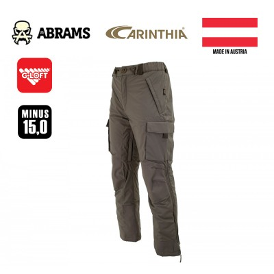 Штаны утепленные тактические Carinthia MIG 4.0 Trousers G-Loft - Olive