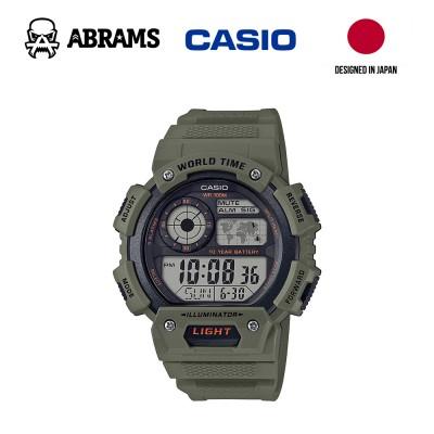 Часы Casio AE-1400WH-3AVCF