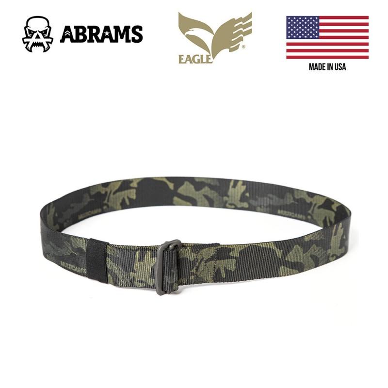 Ремень брючной тактический Eagle Friction Buckle Pants Belt Multicam Black