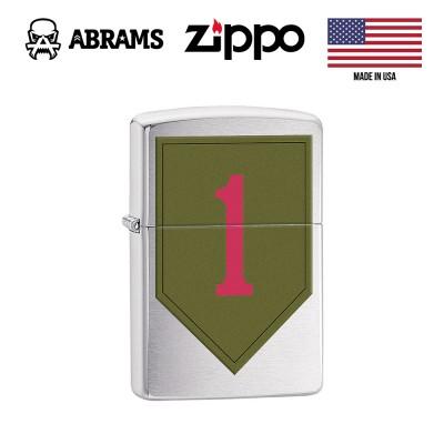 Зажигалка Zippo Lighter US Army 1st Infantry
