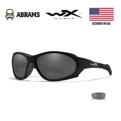 Очки баллистические Wiley X XL-1 AD Smoke/Clear Matte Black Frame