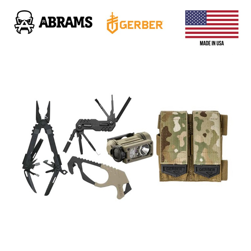 Мультитул-набор Gerber ID Kit W / Customfit Sheath