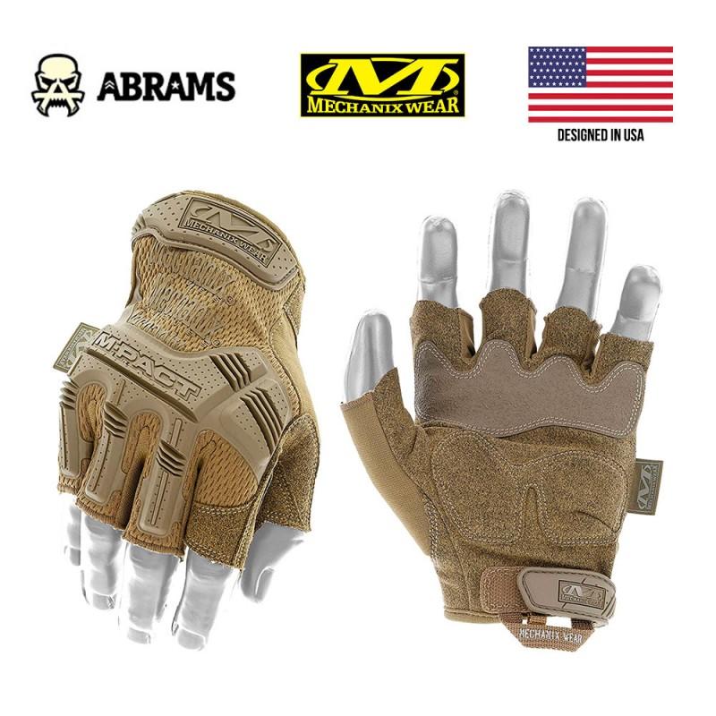 Перчатки тактические Mechanix M-Pact® Fingerless Coyote