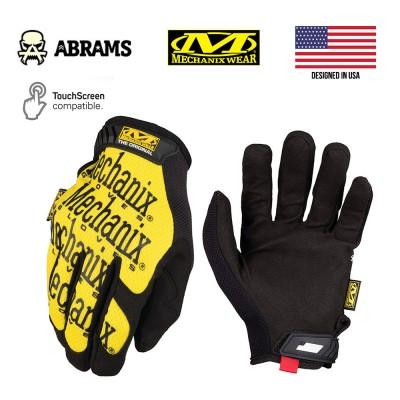 Перчатки тактические Mechanix Original® Yellow